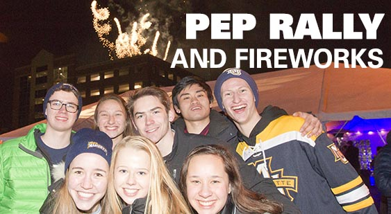 Pep Rally and Fireworks